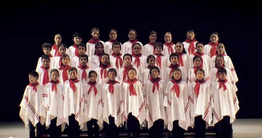 coro naconal de niños
